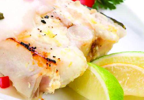 Recipe of the Week:  Lemon & Pepper Halibut