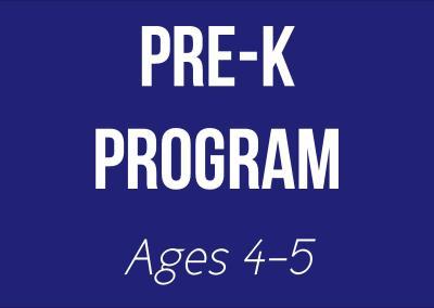 Pre-K Program