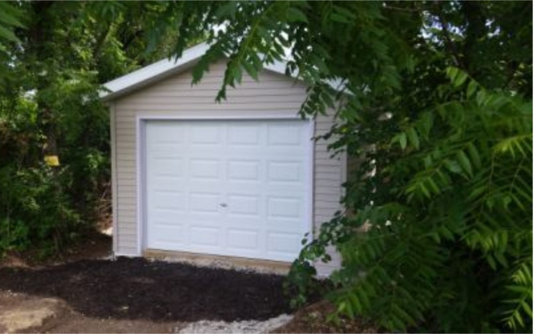 Shawnee Storage Shed Is Complete