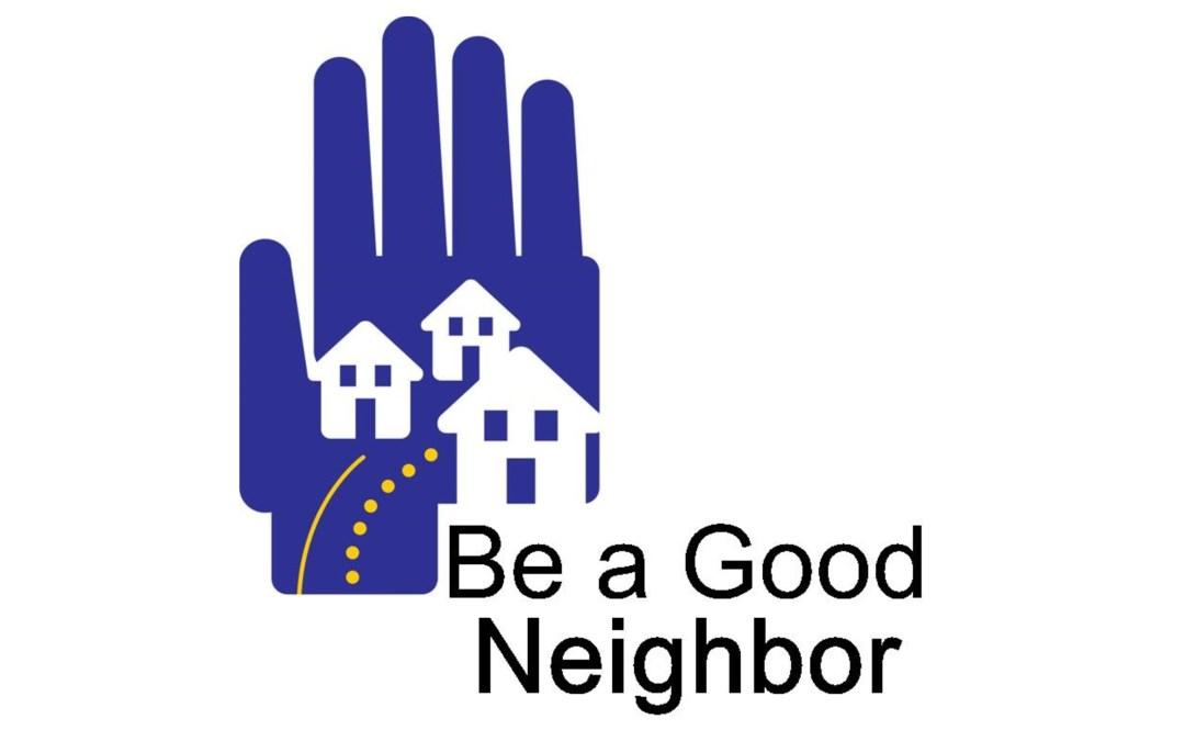 Being Good Neighbors