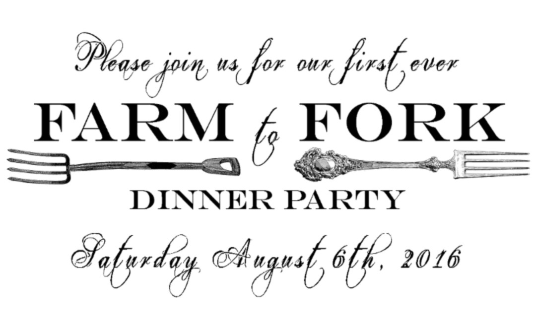 Hollis Farm to Fork Dinner Party