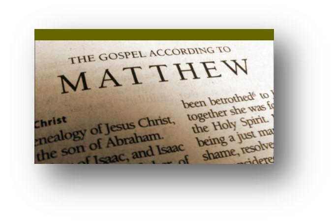 The Gospel of Matthew Online Bible Study