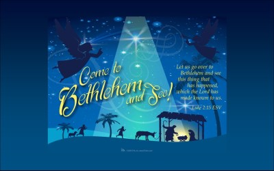 Come to Bethlehem and See:  Children's Christmas Worship