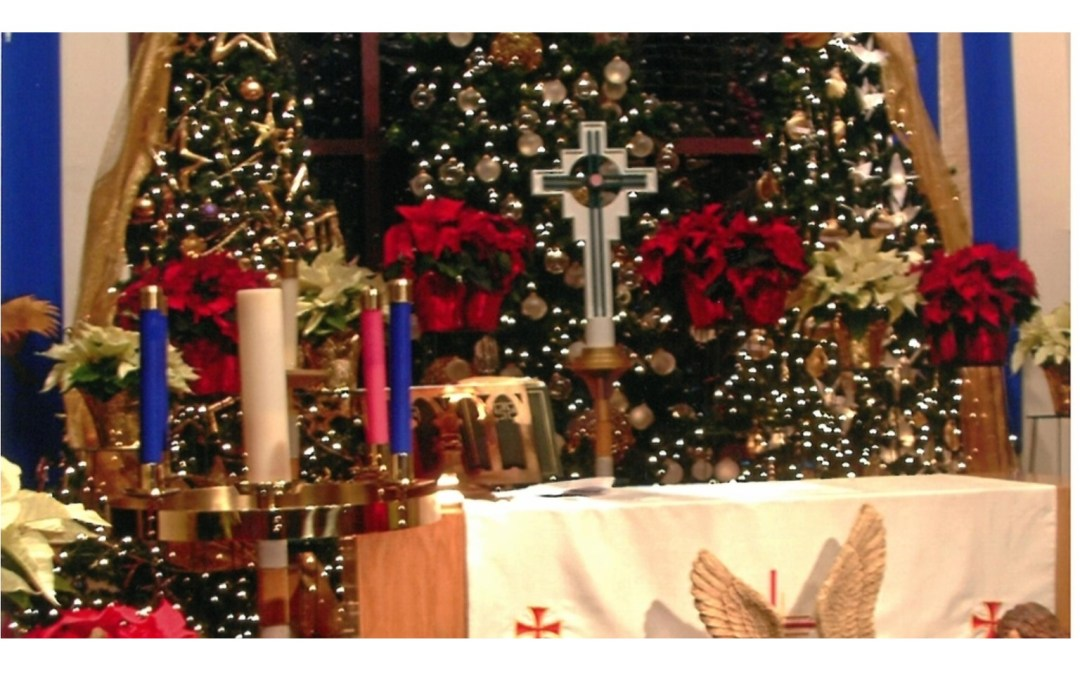 Christmas Decorating at the Mission Campus