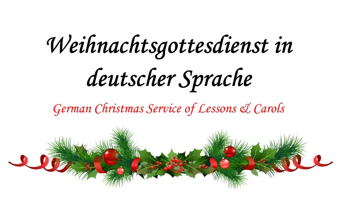 German Service of Lessons and Carols at Trinity