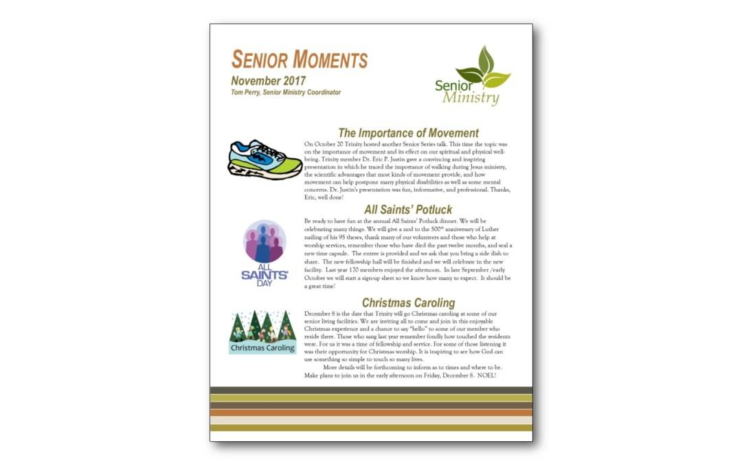 November Senior Moments