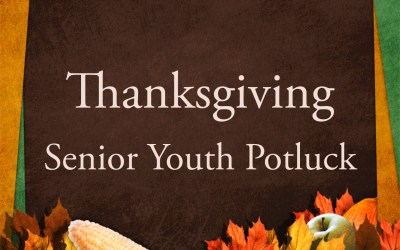 High School Youth Thanksgiving Dinner