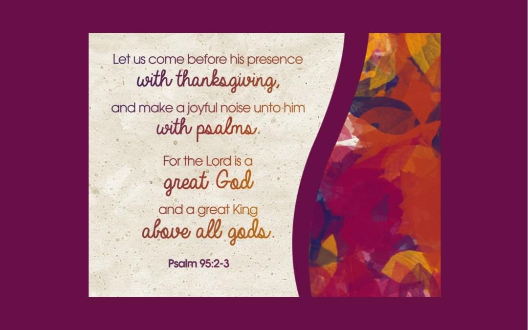 Thanksgiving Eve Worship