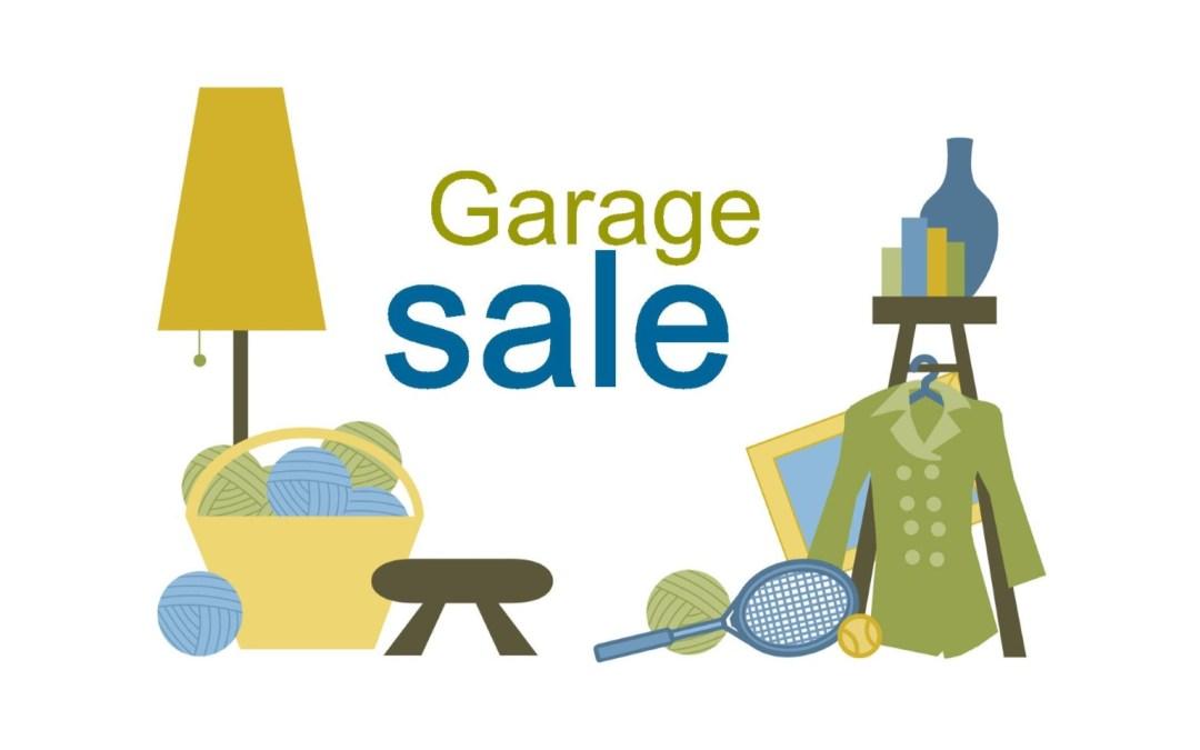 Garage Sale a Success! Thank you!