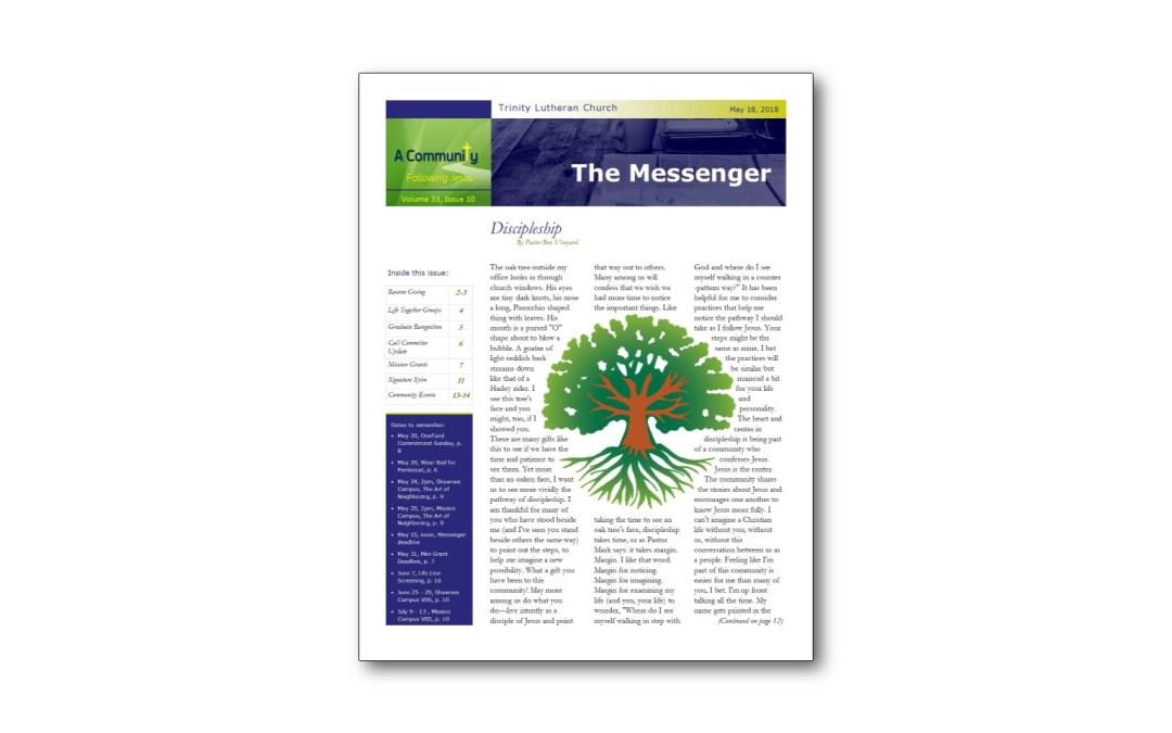 May 18 Trinity Messenger