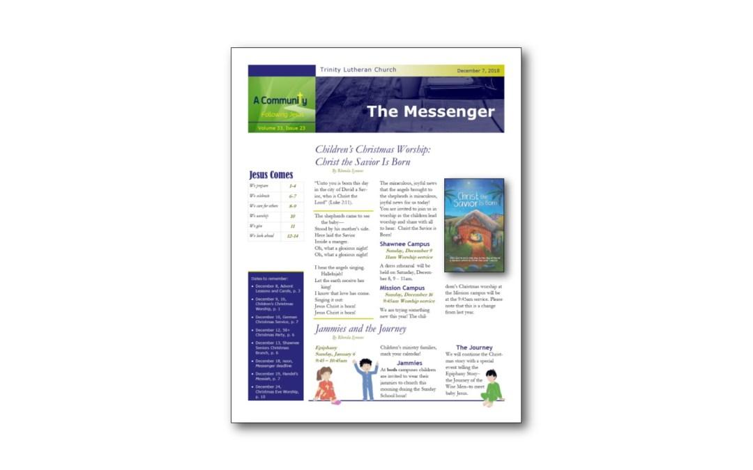 December 7 Messenger