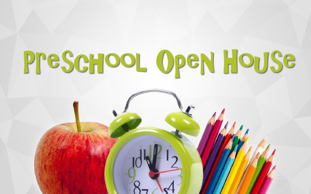 Preschool Enrollment is right around the corner!