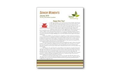 January Senior Moments Newsletter