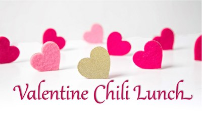 50+ Valentine Chili Lunch