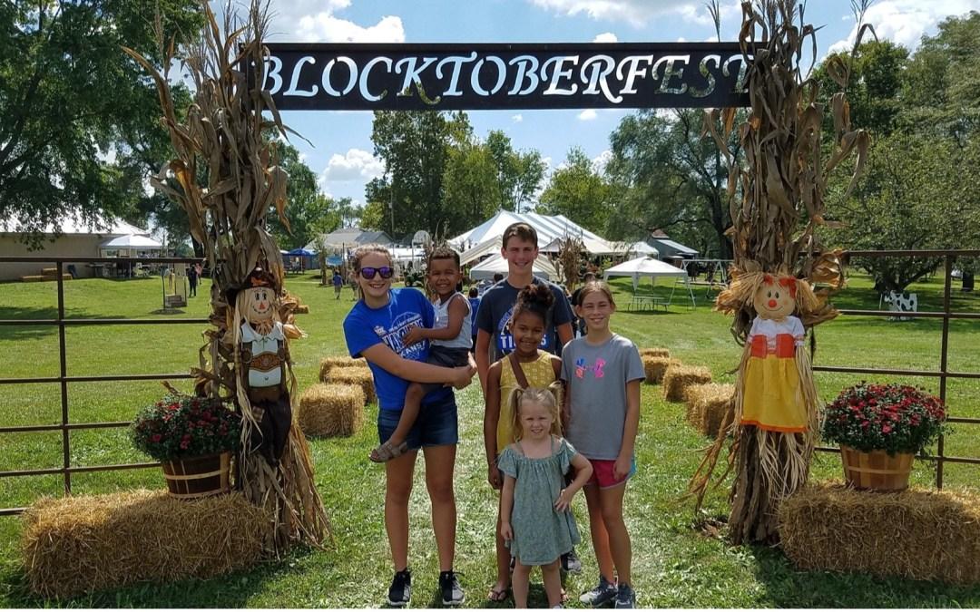 Blocktoberfest at Trinity Paola