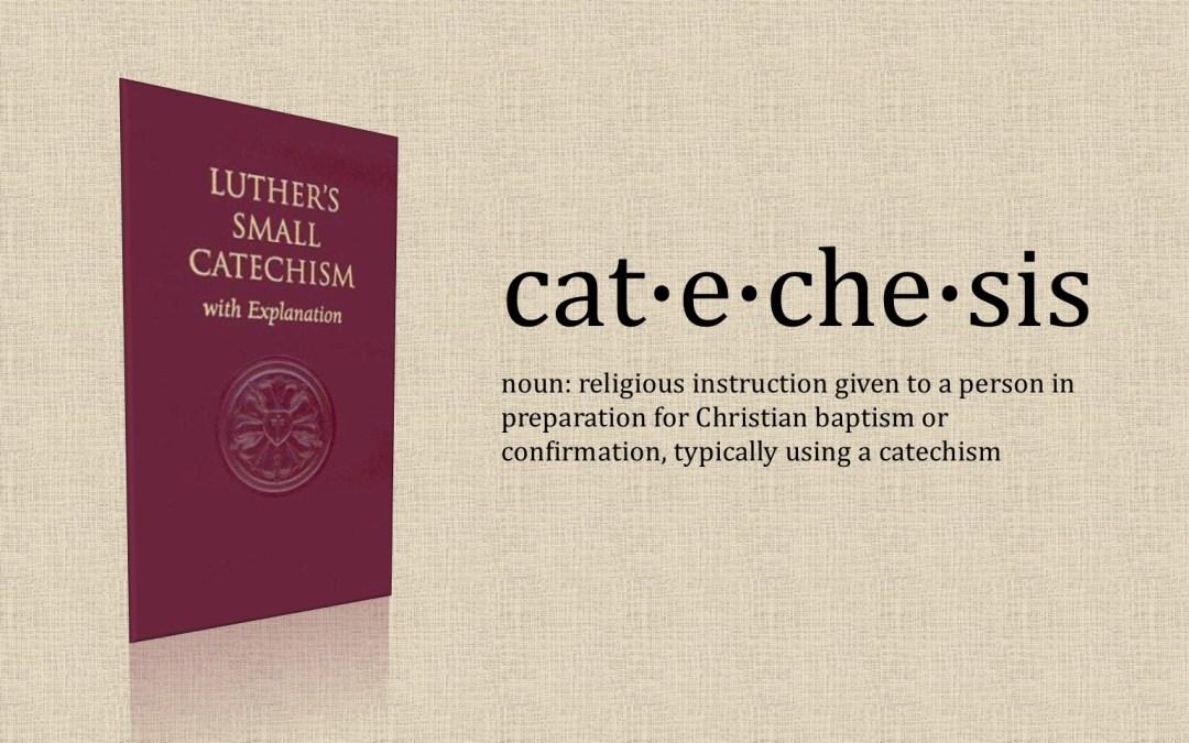 Lenten Catechesis Class