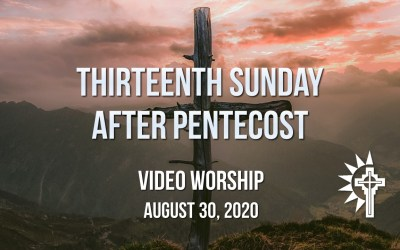 Sunday Worship – August 30