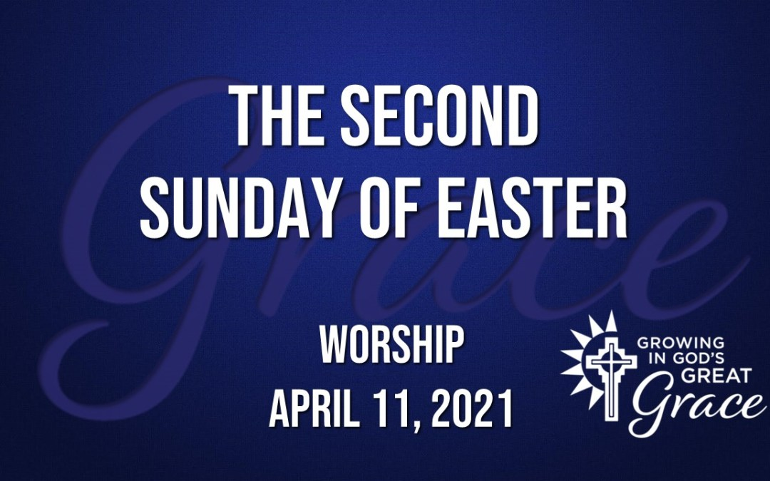 Sunday Worship – April 11