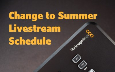 Trinity Live Streaming Schedule Change