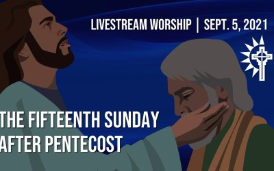 Sunday Worship – September 5
