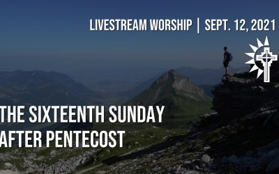 Sunday Worship – September 12