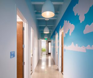 TLC Pediatric Therapies Orlando Office Hallway