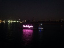 "NOLA ""You Belong Here"" floats up and down the Mississippi River all afternoon and evening!"