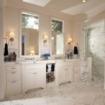 Image: A luxurious bathroom in a Timeline Design+Build Home. Learn more about building a custom home.