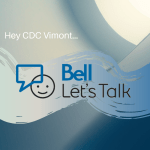 Bell Let's Talk Day at CDC Vimont