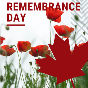 Remembrance Day/Week Activities