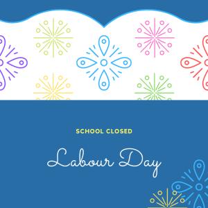 Labour Day Closure 2021