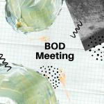BOD Meeting January 19, 2021