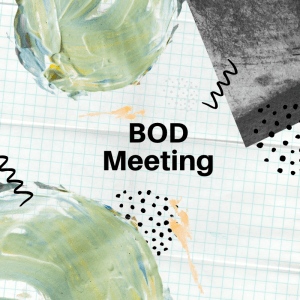 BOD Meeting November 17, 2020