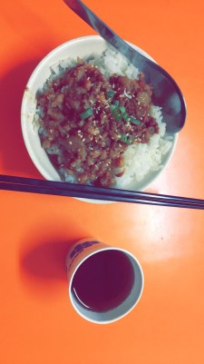台灣肉燥飯--東大夜市
