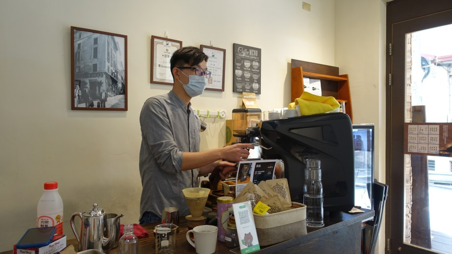 黑潮咖啡老闆