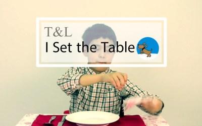 Free Lesson I Set the Table