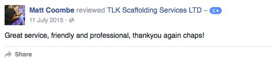 Scaffolders In Cornwall - TLK Scaffolding Services LTD