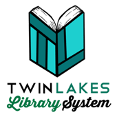 Twin Lakes Library System Logo