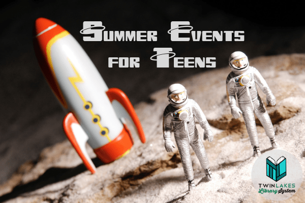 The Summer Reading Challenge is part of our Summer Reading Club. Click to view the full schedule of Teen Summer Programs & Events.