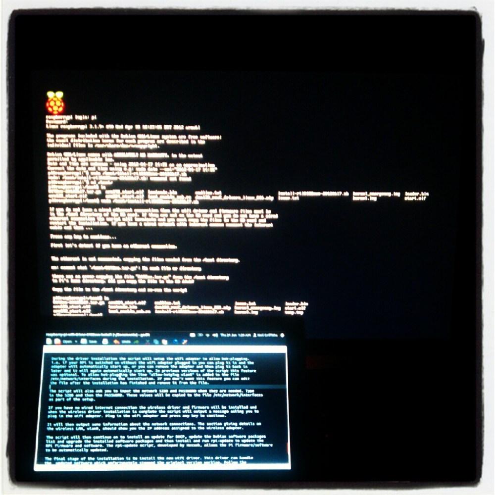 A Raspberry Pi Update (2/3)