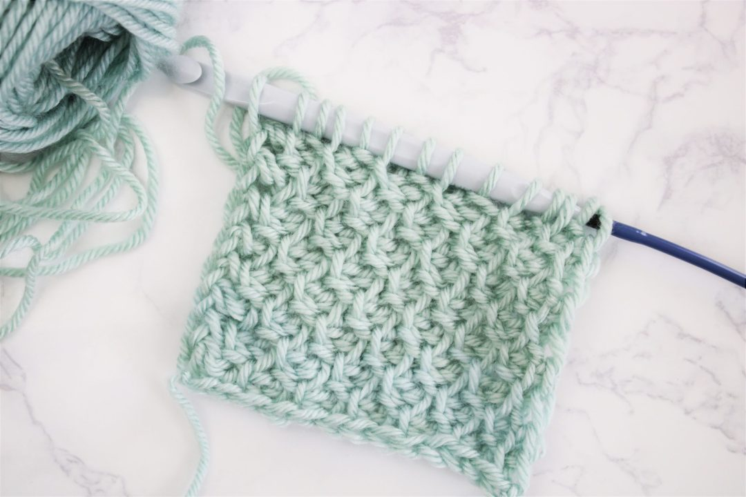 basics of tunisian crochet with tl yarn crafts on tlyc blog
