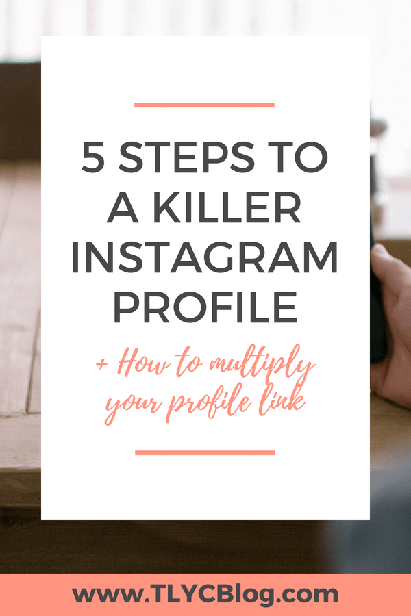 Your Instagram profile is like the homepage for your handmade business. Gain more fans, followers, and customers by following these 6 simple steps for a profile that converts every time! | TLYCBlog.com