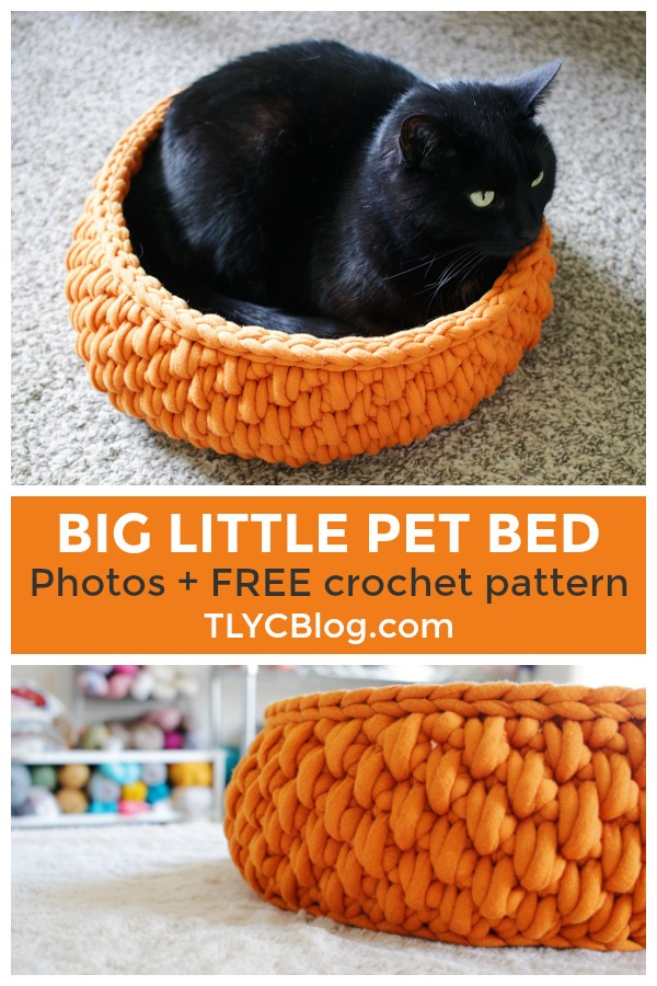 Miraculous Tl Yarn Crafts The Big Little Pet Bed A Round Cat Bed Short Links Chair Design For Home Short Linksinfo