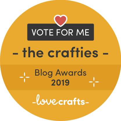 Vote TL Yarn Crafts for The Crafties from LoveCrafts. Vote TLYCBlog to win the Dedicated Indie Designer award in the 2016 Crafties, put on by LoveCrafts