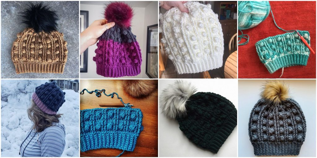 Drexel Beanie | Free crochet hat pattern for men and women, this easy, chunky crochet pattern is beginner friendly and comes with step-by-step instructions. Try this slouchy crochet beanie pattern, made from WeCrochet Mighty Stitch Bulky weight yarn. | TLYCBlog.com