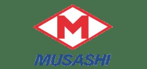 MUSASHI logo page