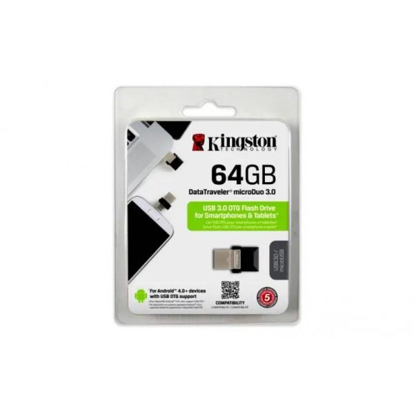 Kingston DataTraveler MicroDUO 3.0 64GB