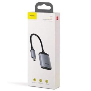 Adapter USB-C Baseus czytnik kart pamięci SD, microSD