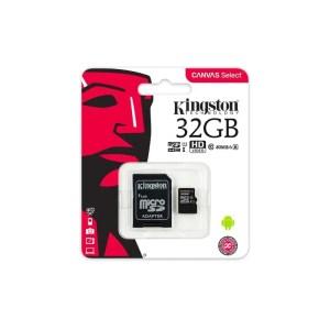 Kingston microSDHC Canvas Select 32GB