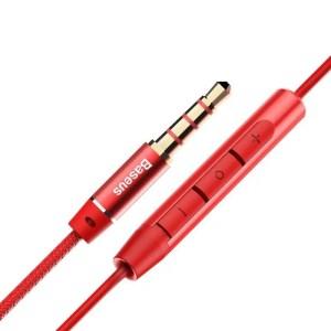Słuchawki Baseus Encok H06 - CZERWONE